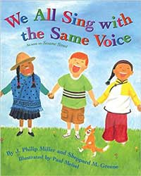 We All Sing with the Same Voice - Book Cover