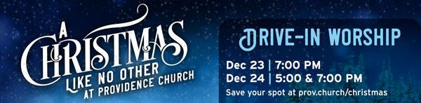 Christmas Services | Providence Church | Mt. Juliet, TN