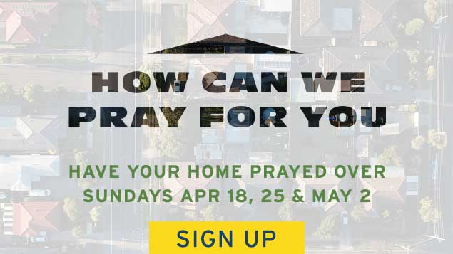 Have Your Home Prayed Over Sign Up Banner | Providence Church | Mt. Juliet, TN
