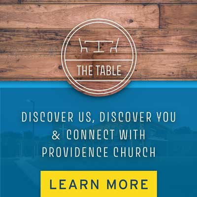 The Table Sign Up Image | Providence Church | Mt. Juliet, TN
